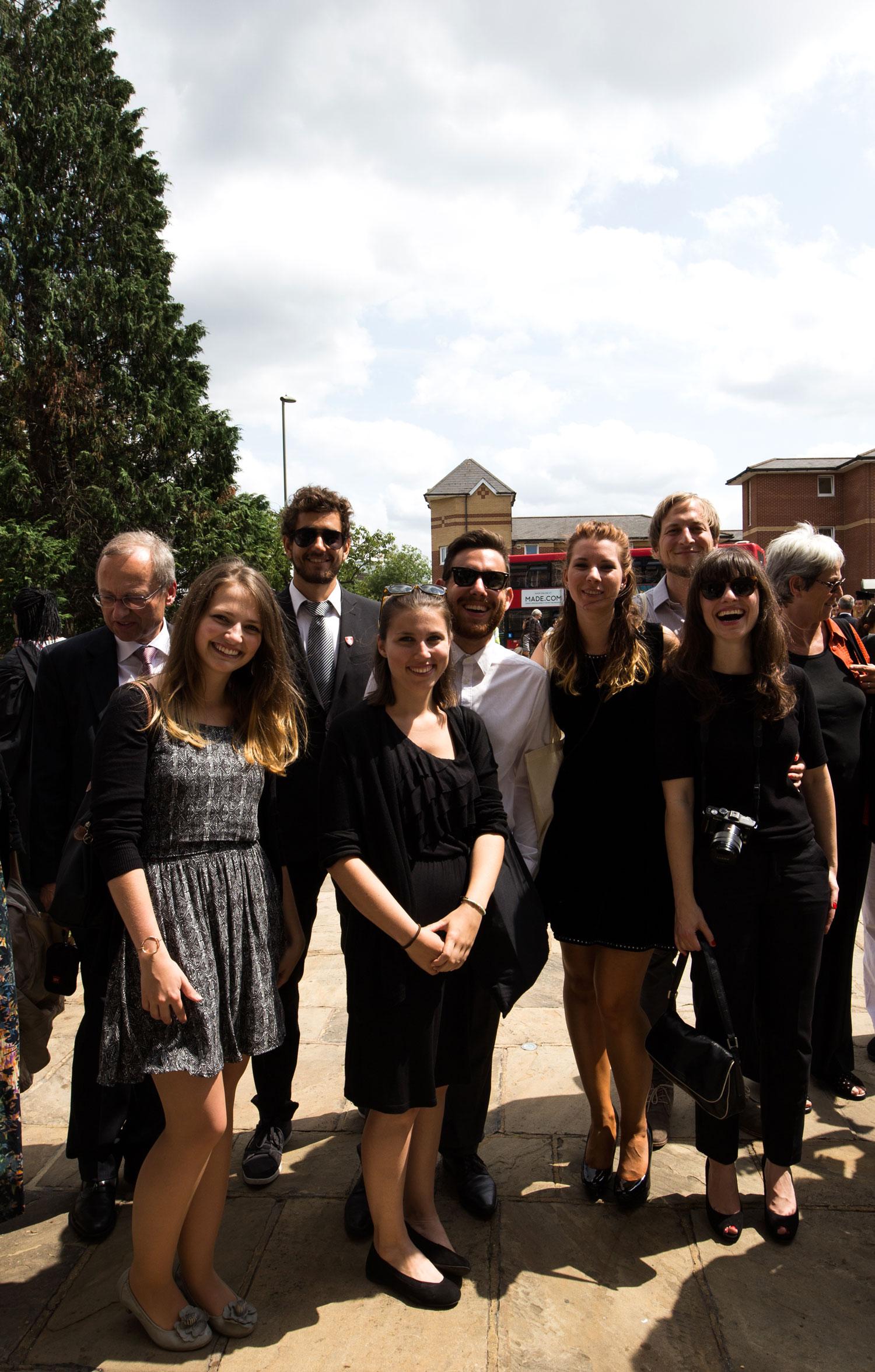 Gruppenfoto nach der Verleihung