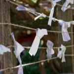 Strips of Wishpaper in Nara