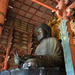 Buddha-Statue im Todai-ji Tempel