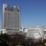 Ausblick von Namba Parks auf Osaka