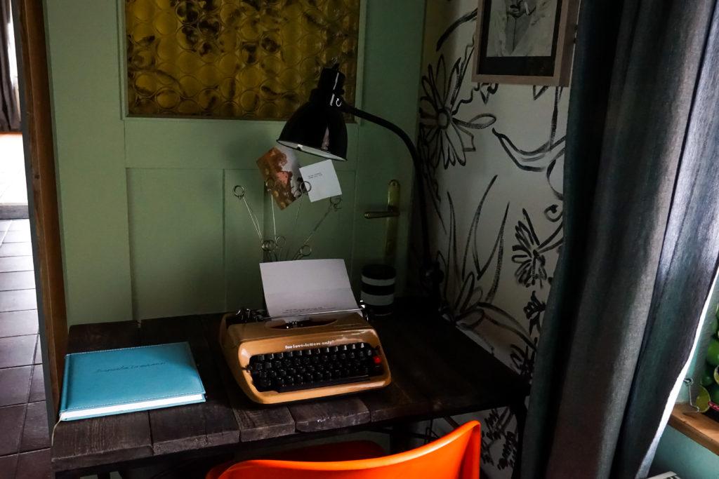 Danube Dreamin – Landhaus in der Wachau Schreibmaschine
