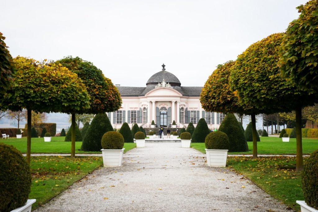 Stiftspark und Gartenpavillon im Stift Melk