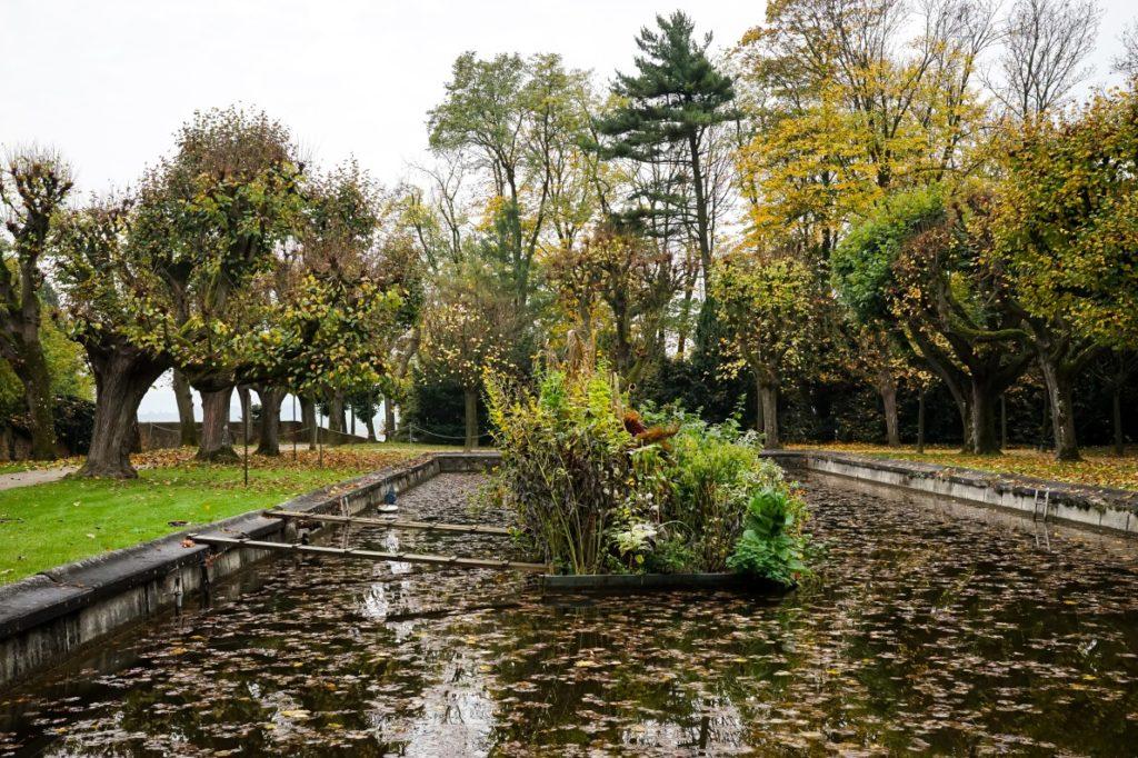 Teich im Stiftspark Melk