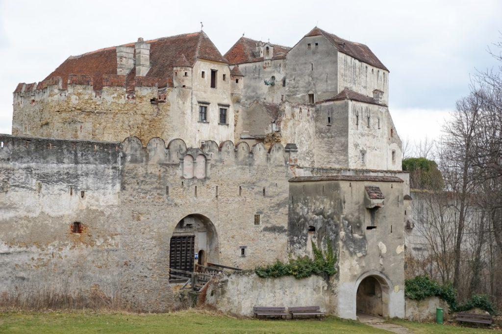 Außenaufnahme Burg Seebenstein
