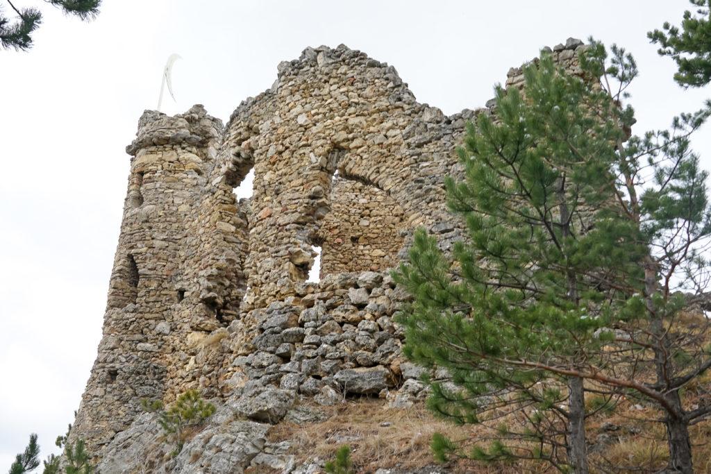 Halbmond Ruine Türkensturz
