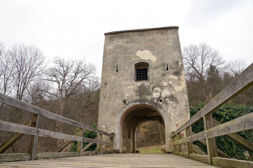 Zugbrücke Burg Seebenstein