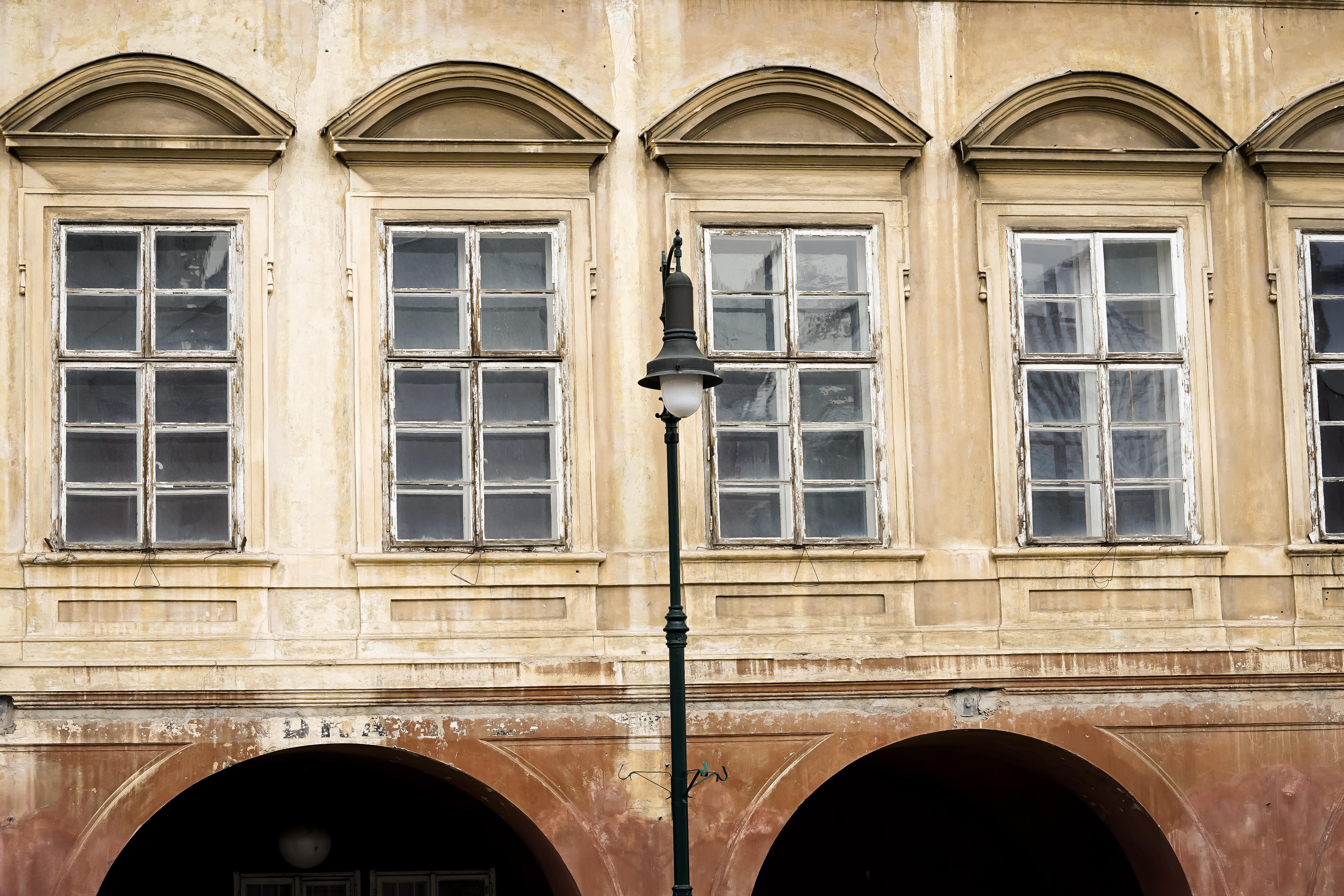 Fassade Haus in Prag