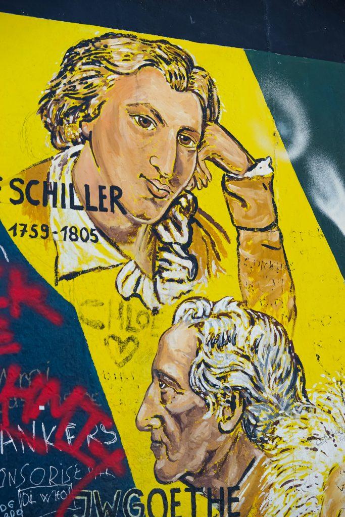 East Side Gallery Berliner Mauer