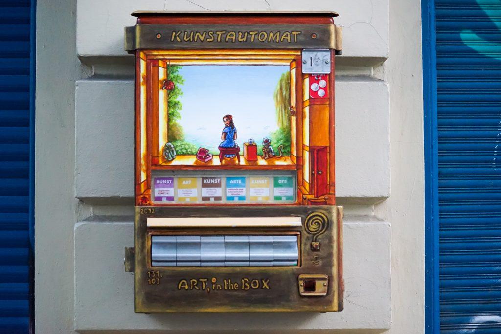 Kunstautomat in Berlin