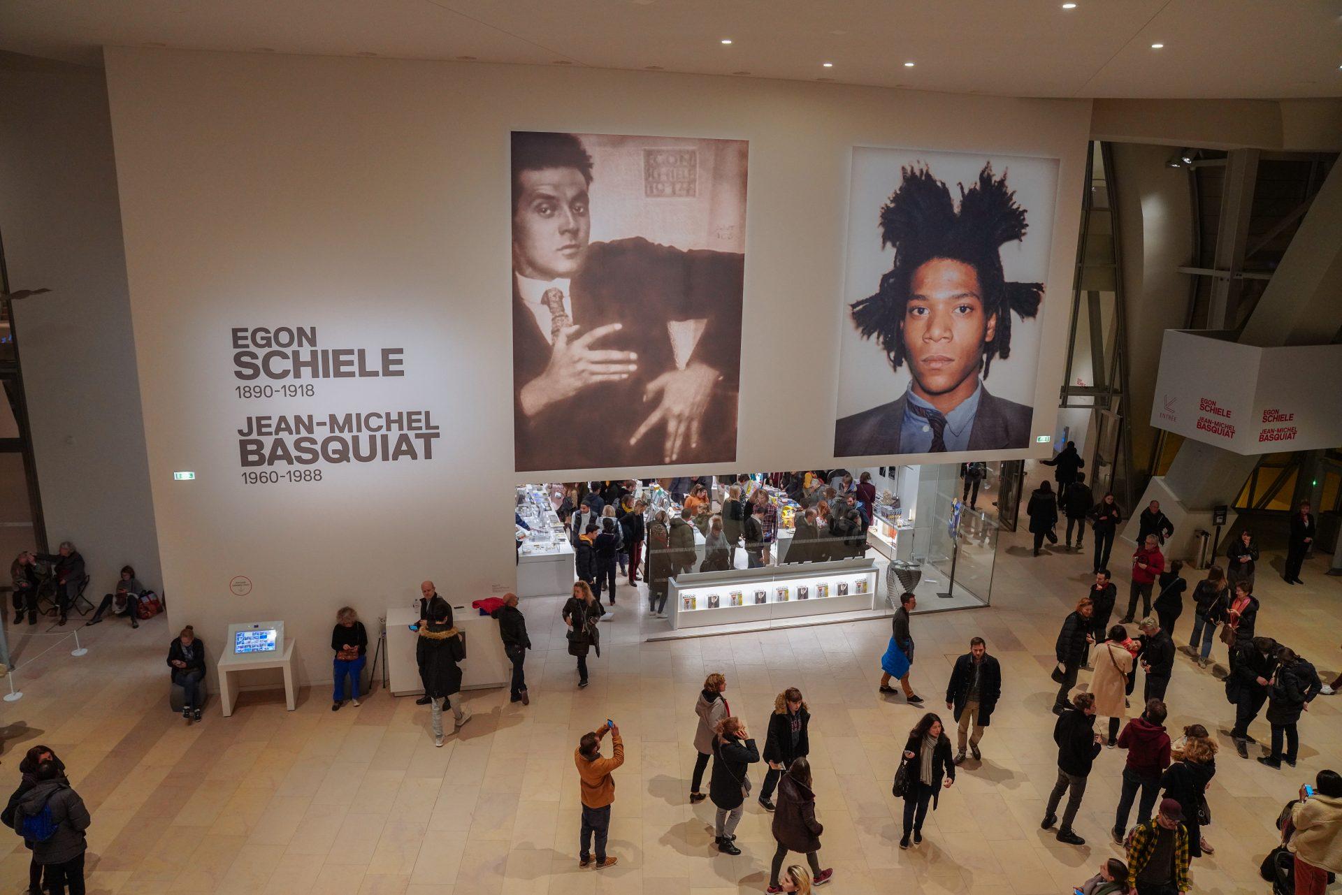 Egon Schiele und Jean-Michel Basquiat