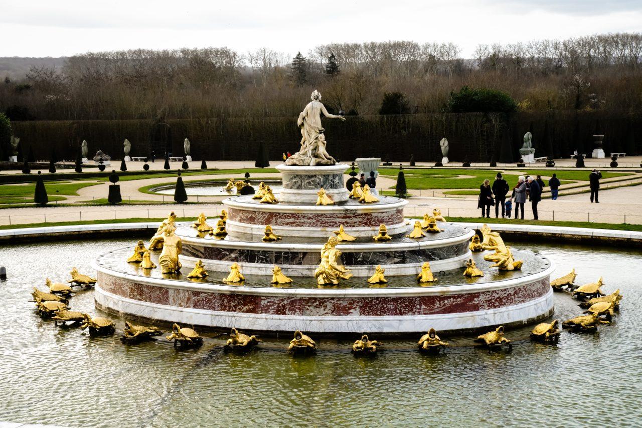 Brunnen im Schloss Versailles