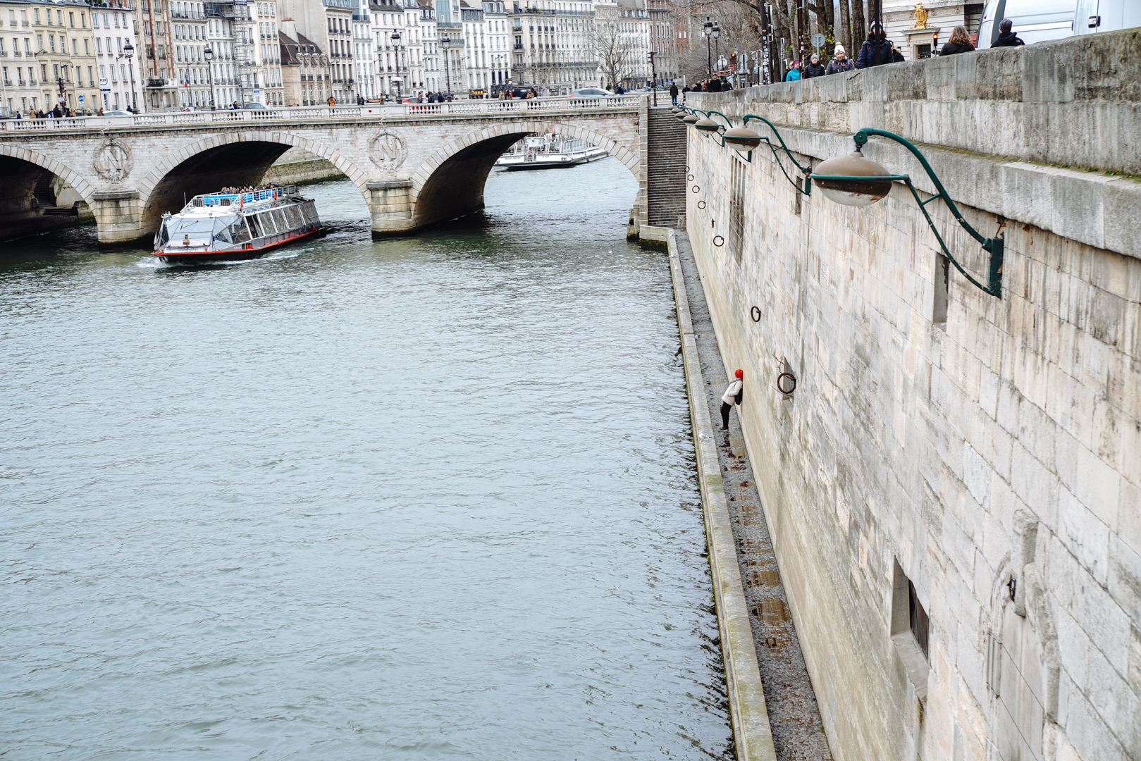 An der Seine in Paris