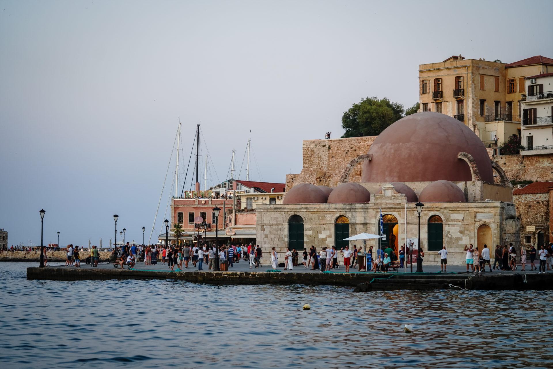 Hafen Chania Kreta