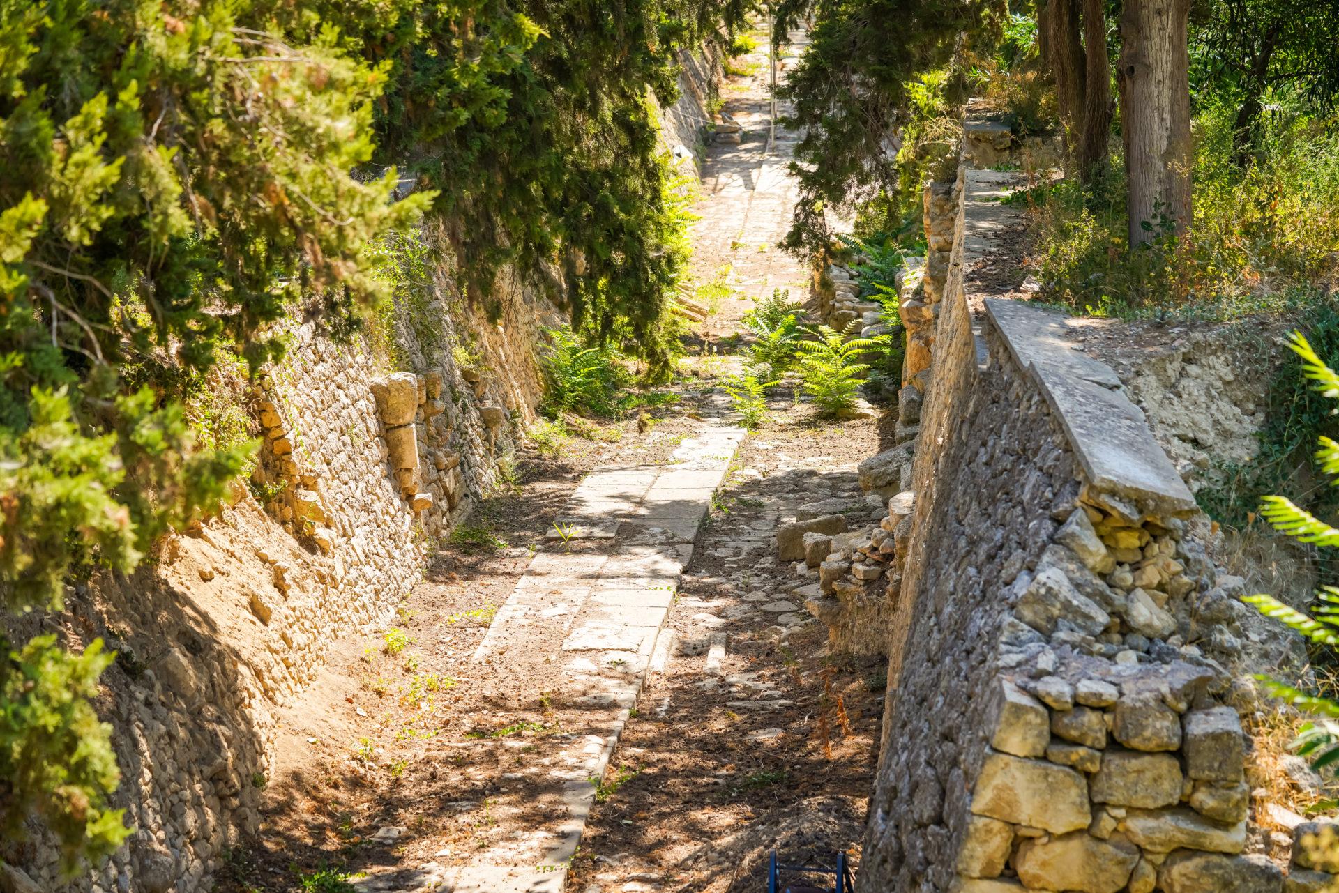 Prozessionsstrasse Knossos Kreta